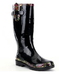 The Sak | Black Rhythm Rain Boots | Lyst