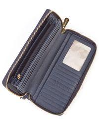 MICHAEL Michael Kors - Brown Jet Set Continental Multifunction Phone Wallet - Lyst