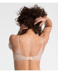 Spanx - Natural Pillow Cup Signature Unlined Full Coverage (soft Nude) Women's Bra - Lyst