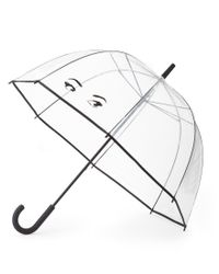 kate spade new york - Multicolor Winking Eyes Bubble Umbrella - Lyst