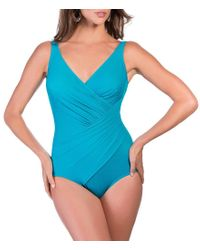 Miraclesuit - Blue Must Haves Oceanus One-piece - Lyst