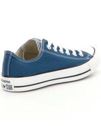 Converse - Blue All Star® Seasonal Lace Up Sneaker for Men - Lyst