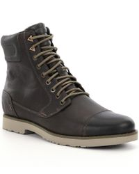 Teva | Black Durban Tall Boots for Men | Lyst