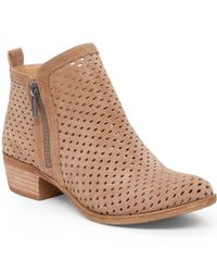 Lucky Brand | Multicolor Women's Perforated Basel Booties | Lyst