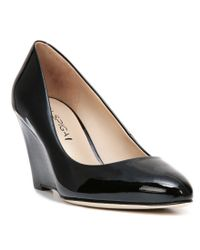 Via Spiga - Black Pamina Wedges - Lyst