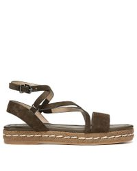 Via Spiga - Green Laney Sandals - Lyst