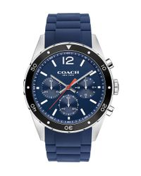 COACH - Blue Sullivan Sport Chronograph Watch for Men - Lyst