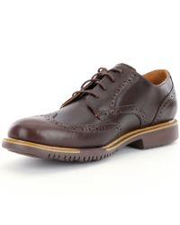 Cole Haan - Brown Men's Great Jones Wingtip Oxfords for Men - Lyst