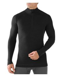 Smartwool - Gray Long-sleeve Nts Mid 250 Quarter-zip Pullover for Men - Lyst