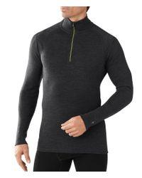 Smartwool | Gray Long-sleeve Nts Mid 250 Quarter-zip Pullover for Men | Lyst
