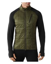 Smartwool | Green Corbet 120 Mock Neck Quilted Jacket for Men | Lyst