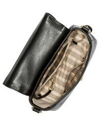 Brahmin - Black South Coast Charleston Collection Sonny Saddle Bag - Lyst