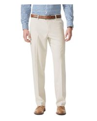 Dockers | Natural Non-iron Comfort Khaki Expander Relaxed-fit Flat-front Pants for Men | Lyst