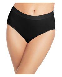 Wacoal | Black Skinsense Seamless Brief Panty | Lyst