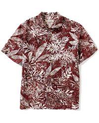 Tommy Bahama | Multicolor Short-sleeve Brazilia Batik Floral Print Woven Shirt for Men | Lyst