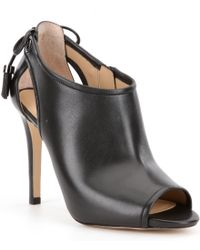 MICHAEL Michael Kors | Black 'jennings' Booties | Lyst