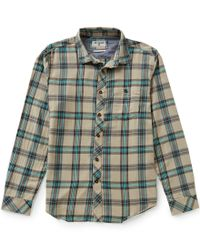 Billabong | Green Vantage Wave-washed Yarn-dyed Plaid Long-sleeve Woven Shirt for Men | Lyst