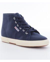 Superga - Blue Womens 2095 Cotu Sneakers - Lyst