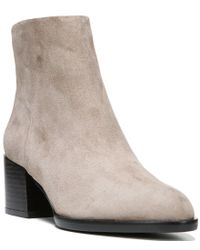 Sam Edelman | Natural Joey Suede Ankle Boots | Lyst