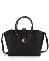 Lauren by Ralph Lauren | Black Carrington Collection Bethany Shopper | Lyst