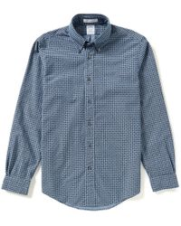 Brooks Brothers | Blue Regent Fit Repeating Paisley Oxford Woven Shirt for Men | Lyst