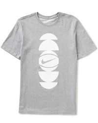 Nike - Gray Dry Core Art 3 Basketball T-shirt for Men - Lyst