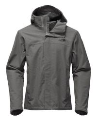 The North Face | Gray Venture 2 Hooded Waterproof Jacket for Men | Lyst