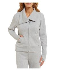 UGG   Gray ® Pauline Fleece Lounge Jacket   Lyst