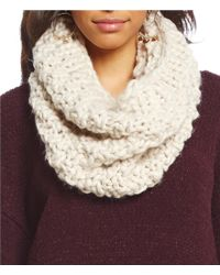 Collection 18 - Purple Chunky-stitch Cowl - Lyst