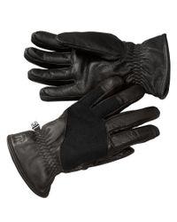 Smartwool   Black Ridgeway Terry-lined Leather Gloves   Lyst