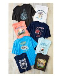 Tommy Bahama - Blue What ́s Yacht To Like Short-sleeve Graphic Tee for Men - Lyst