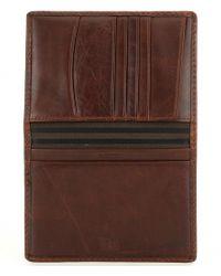 Frye - Brown Logan Passport Wallet for Men - Lyst