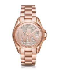 Michael Kors - Multicolor Bradshaw Three-hand Bracelet Watch - Lyst