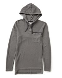 William Rast | Gray Cohen Hoodie for Men | Lyst