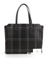 Ivanka Trump | Black Soho Solutions Windowpane Work Tote | Lyst