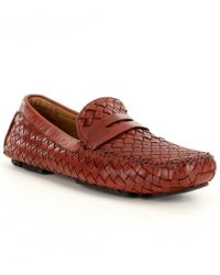Robert Zur | Red Men ́s San Tropez Leather Drivers for Men | Lyst