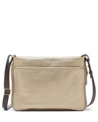 Fossil - Piper Metallic Small Cross-body Bag - Lyst