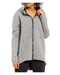 Nike | Gray Sportswear Tech Fleece Front Zip Hoodie Jacket | Lyst