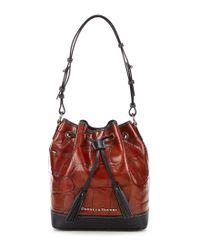 Dooney & Bourke | Red Denison Collection Tasseled Drawstring Bag | Lyst