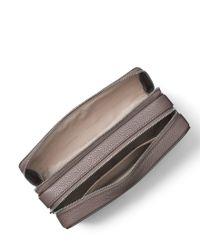 MICHAEL Michael Kors - Brown Studio Mercer Double-zip Travel Pouch - Lyst