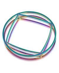 Trina Turk | Blue Adrift Bangle Bracelet | Lyst