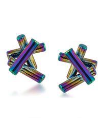 Trina Turk | Blue Adrift Sticks Stud Earrings | Lyst