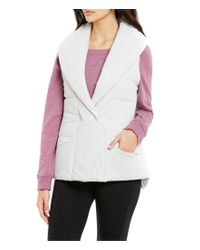 UGG | Multicolor ® Bexley Quilted Jersey Lounge Vest | Lyst