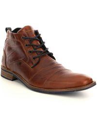 Steve Madden   Brown Men ́s Kramerr Leather Boots for Men   Lyst