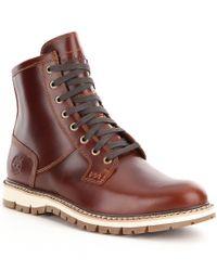 Timberland | Brown Men ́s Britton Hill Waterproof Boot for Men | Lyst