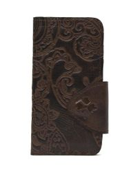 Patricia Nash | Brown Burnished Tooled Lace Collection Fiona Iphone 6 Case | Lyst