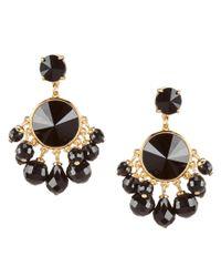 kate spade new york | Metallic Bauble Drop Earrings | Lyst