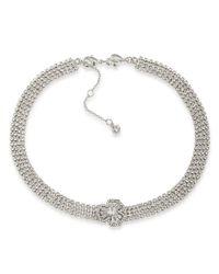 Carolee | Metallic Something Borrowed Choker Necklace | Lyst