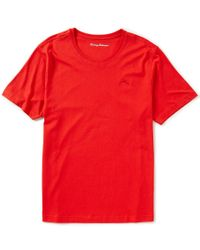 Tommy Bahama   Red Modal Crewneck T-shirt for Men   Lyst