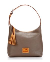 Dooney & Bourke | Brown Patterson Collection Paige Tasseled Hobo Bag | Lyst